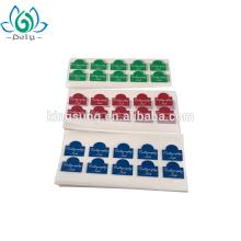 fábrica de Shangai papel barato troquelado adhesivo china
