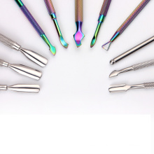 Nail Art Tools Stainless Steel Cuticle Dead Skin Pusher