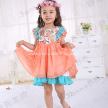 Rosa Flamenco remake flutter sleeve dress girl
