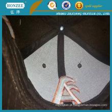 Interline tecido poliéster para tampas