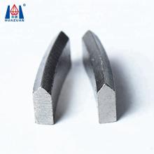 Hot Pressed Roof Top Type Diamond Core Bit Segment For Granite Marble