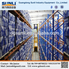 High Technology Cold Rolled With CE&ISO Certificate Q235b Very Narrow Aisle Heavy Duty Metal Warehouse Rack