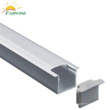 Linear Pendant Light Aluminium Profile Office