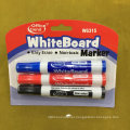 Whiteboard Marker Pen with Brush 2+1, Dry Eraser Marker Pen Set W6312