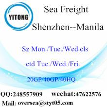 ميناء شنتشن الشحن البحري الشحن إلى مانيلا