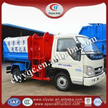 FORLAND camión de basura 3m3, Camión de basura pequeña, Reciclaje basura camión de limpieza