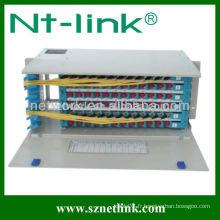 Panneau de raccordement Netlink 96 cores F / O avec adaptateur FC 96pcs
