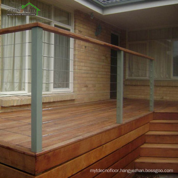 Factory price Green material outdoor decking