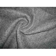 Single Terry Fleece Strickstoff Heather Grey