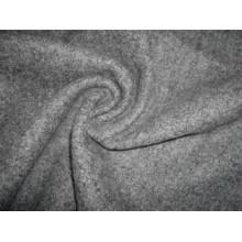 Tissu en tricot à laine simple Terry Heather Grey