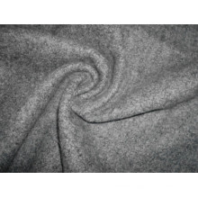 Single Terry Fleece Knitting Fabric Heather Grey