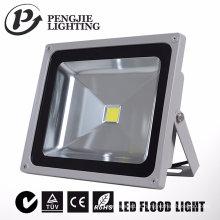 Alojamento da iluminação da inundação do diodo emissor de luz da ESPIGA / SMD IP65 20W com CE / RoHS
