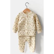 Winter Bio-Baumwolle Body Suit Großhandel in China mit Gots-Zertifizierung