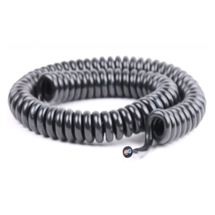 TPU Spiral Cable For Microphone