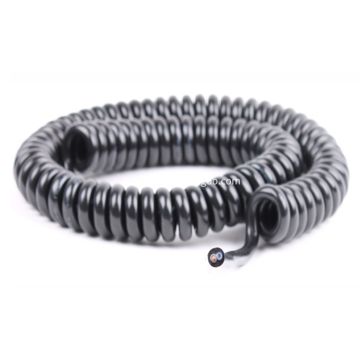 Spiral Cable Coiled Cable