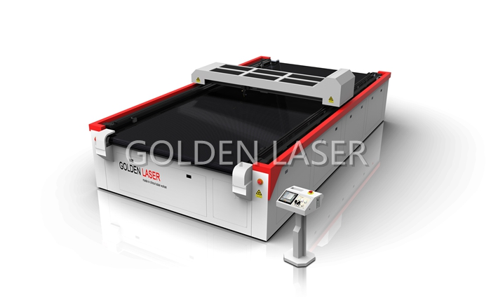 CO2 Flatbed Fabric Laser Cutting Machine