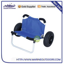 Aluminum Trailer,Silvery Anodized Kayak Dolly Seat, Kayak Cart