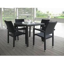 4seat goedkope eetkamer meubelen Leisure tabel stoel