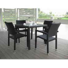 4seat repas bon marché mobilier Table chaise de loisirs