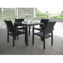 4seat Cheap Dining Furniture Leisure Table Chair