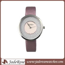 Neue Mode OEM Legierung Fall Frau Uhr (RA1249)