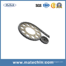 Forgings for Motorcycle Parts Motorcycle Transmission Chain and Sprocket
