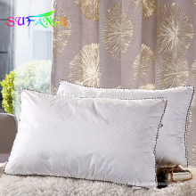 Hotel pillow/High quality design direct factory made hotel square pillow/washable pillow
