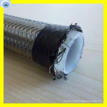 Tube flexible de tuyau de PTFE chimique de téflon