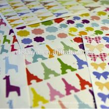 Ручной наклейки счет малых DIY декоративная бумага наклейки