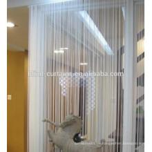 100% Polyester Einzelfarbe String Vorhang