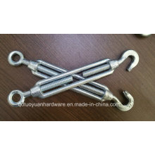 Factory Supplier Electro Galvanized Malleable Commercial Type Turnbuckle Fastener