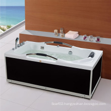 Luxury Armrest Single Spa Acrylic Bathtub