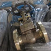 B148 C95800 aluminio bronce compuerta