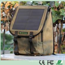 Cargador solar solar de múltiples funciones de múltiples funciones del recorrido al aire libre del morral con el panel solar 10W para los teléfonos / la cámara / el ordenador portátil (SB-168)