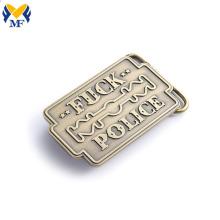 Custom Zinc Alloy Buckle With Your Logo
