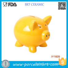 Lovely Animal Cute Piggy Ceramic Coin Bank