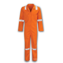 100% cotton material  flame retardant overall clothing