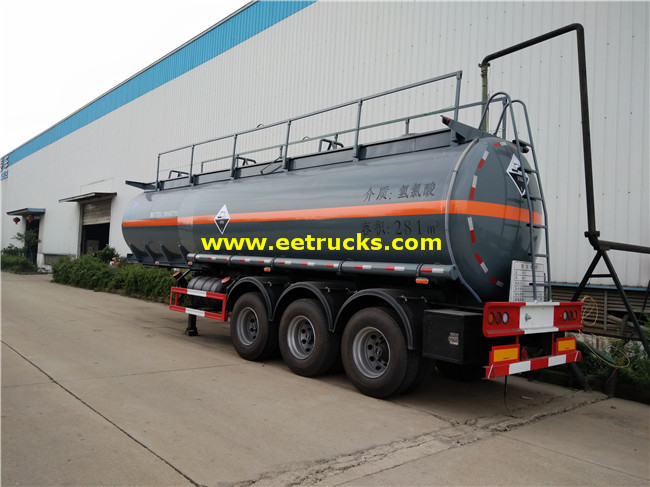 Hydrochloric Acid Transport Trailers
