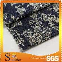 Cotton Spandex Jacquard Denim (SRSCSP 1801)