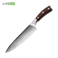 G10 Maniglia materiale Coltello chef Damasco a 8 pollici