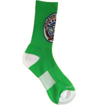 Цвет нейлоновые спортивные носки с махровым и колено высоким (NTS-03)