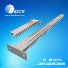 Soportes de montaje de metal para soporte de canal de cable