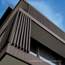 Outdoor wood-plastic composite board WPC co-extruded wall