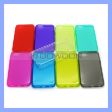 Color Transparent TPU Cell Phone Case Cover for iPhone 6