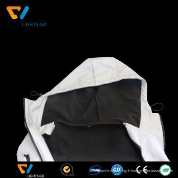 Chine dongguan nouvelle conception salut vis à la mode meilleure veste réfléchissante pour la sécurité