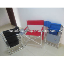 Folding director chair camping chair aluminium folding chair