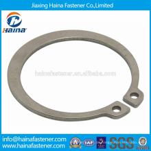 Chinesischer Lieferant Bester Preis DIN471 Kohlenstoffstahl / Edelstahl Sicherungsringe für Wellen-Normaler Typ und schwerer Typ