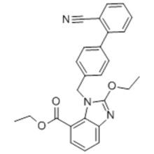 Ethyl-2-Ethoxy-1-[[(2'-Cyanobiphenyl-4-yl) Methyl] Benzimidazole]-7-Carboxylate CAS 139481-41-7