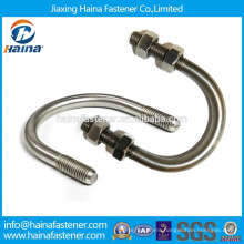 Chinese Manufacturer DIN3570 U bolt SS316 ,Stainless steel 18-8 U Bolt