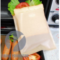 Non-stick toaster bag with customer logo